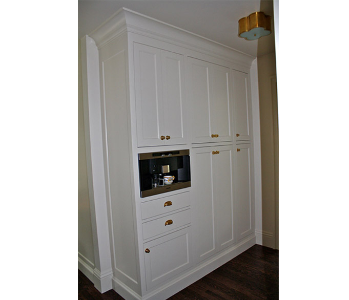 vertical image of pantry